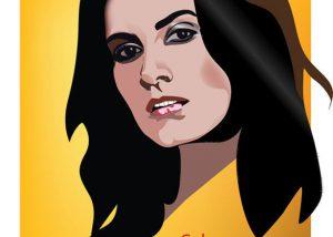 Woman Vector Illustration Albuquerque