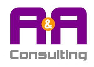 A & A Consulting Logo Design Albuquerque