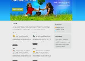 Trees for the Future - Website Interface Demo