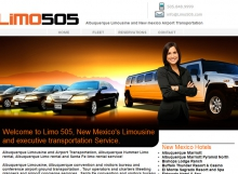 Limo505 - Albuquerque Limo Website Design