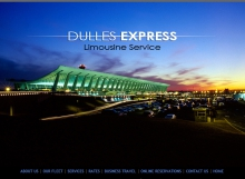 Dulles Express  - Limo Service Website Design