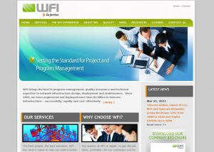 Wireless Industry Website Design