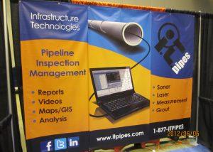 IT Pipes Trade show Banner Albuquerque