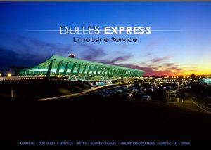 Dulles Express - Limo Service Website Design