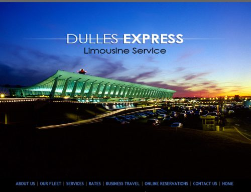 Dulles Express  – Limo Service Website Design