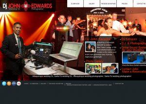 John Edwards Deejay website in Santa Fe