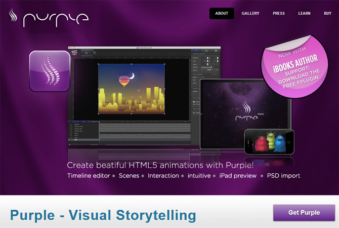 HTML 5 tools to Create Animation