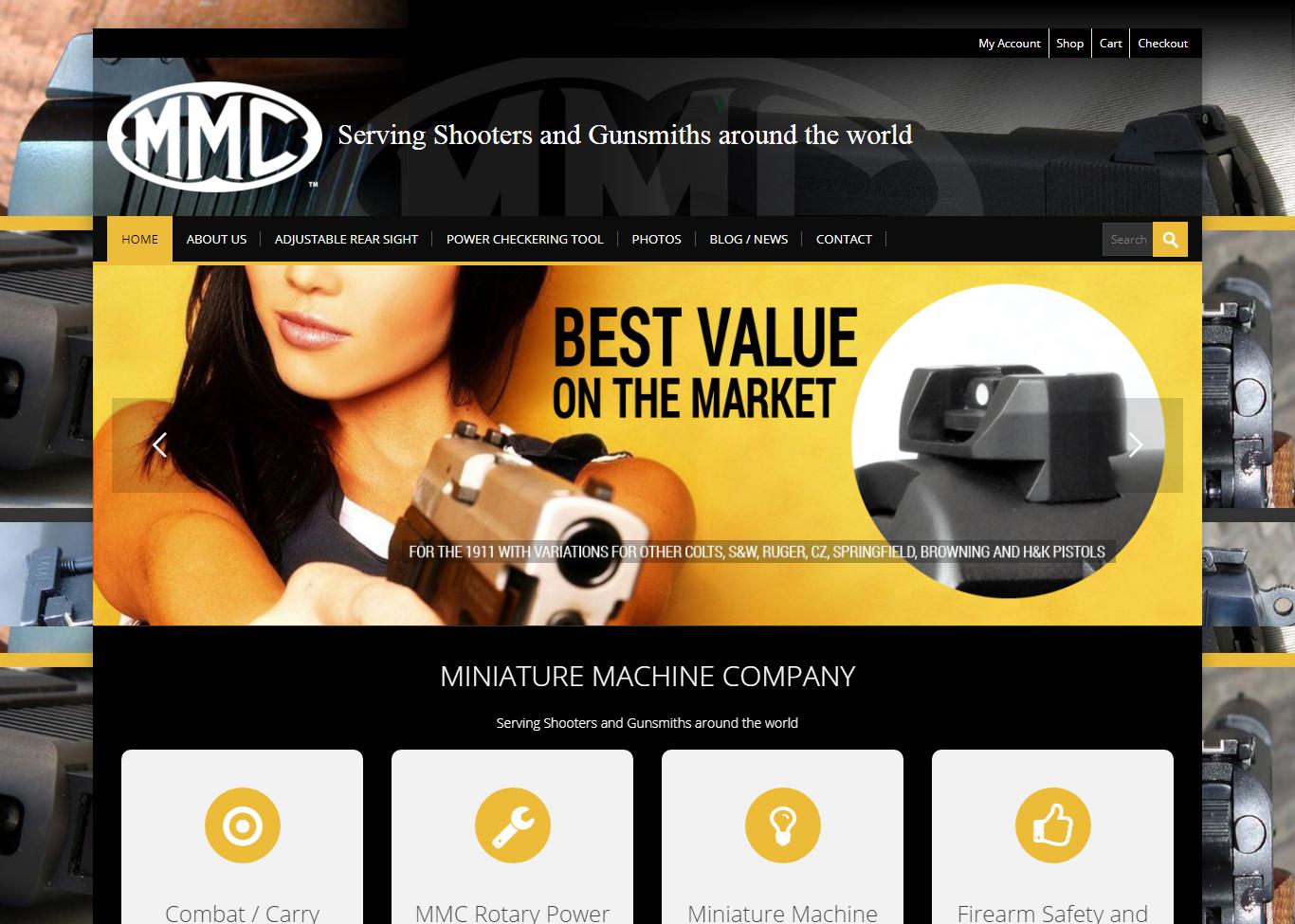 Sights inc- Gun Sight eCommerce- Website