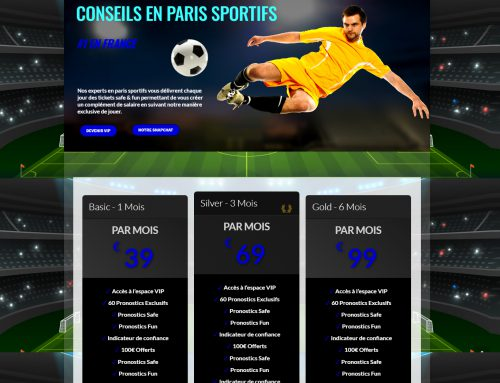 Sporting Prognosis WordPress Website